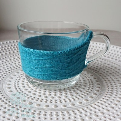 Beautifull knitted tea cozy available to order